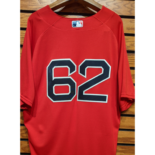 Photo of #62 Team Issued Red Home Alternate Jersey