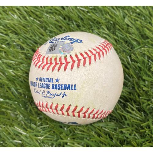 Photo of Jesse Winker RBI Single Baseball - 5/27/21
