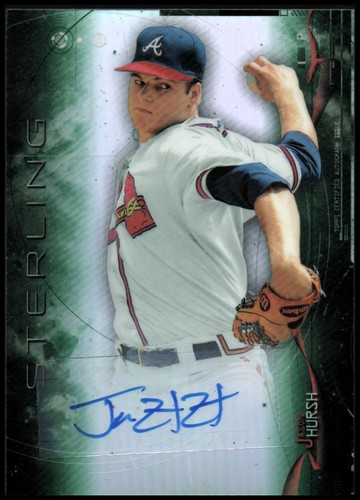 Photo of 2014 Bowman Sterling Prospect Autographs Green Refractors #BSPAJH Jason Hursh