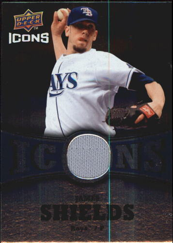 Photo of 2009 Upper Deck Icons Icons Jerseys #JS James Shields