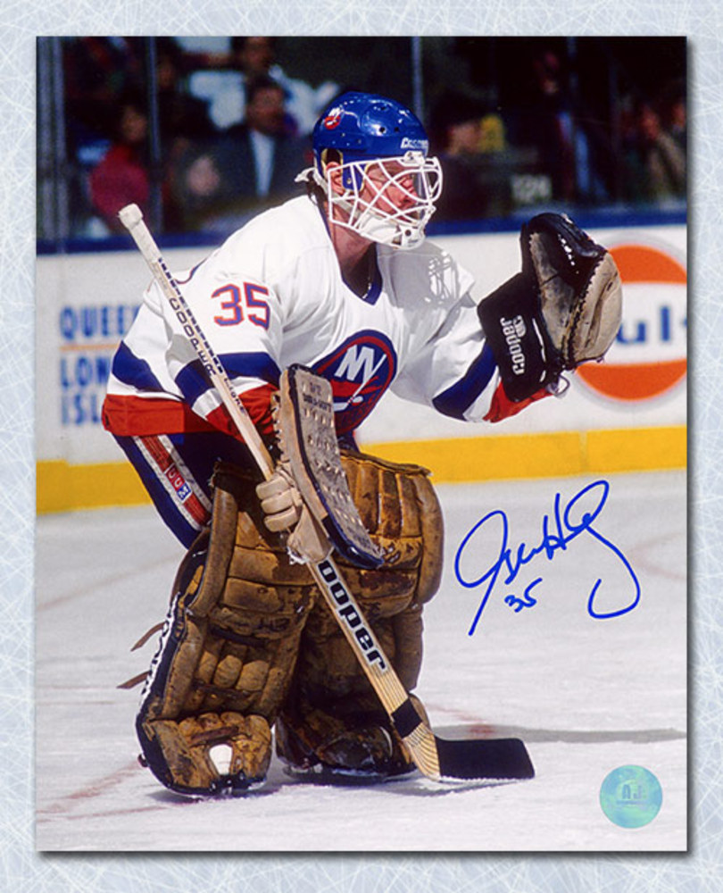 Glenn Healy New York Islanders Autographed 8x10 Photo