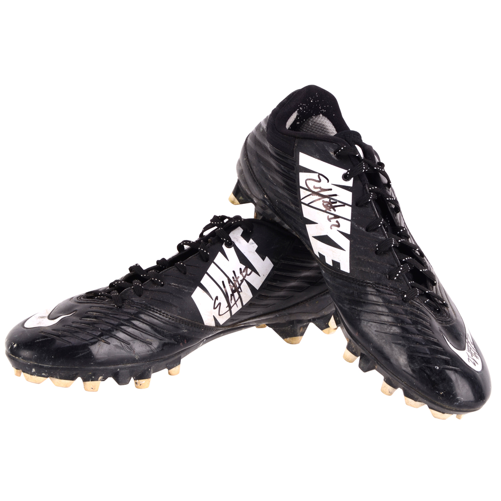 Emmanuel Johnson Southern Mississippi Golden Eagles Autographed Game-Used NFLPA Collegiate Bowl Team National Pair of Cleats