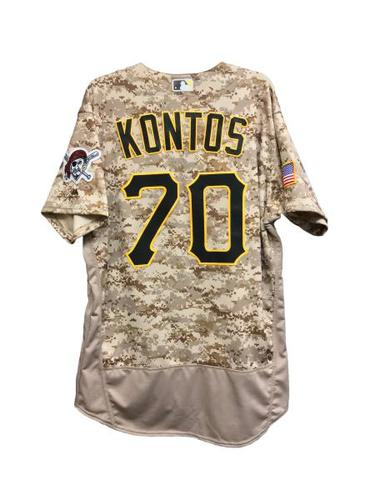Photo of George Kontos Game-Used Jersey