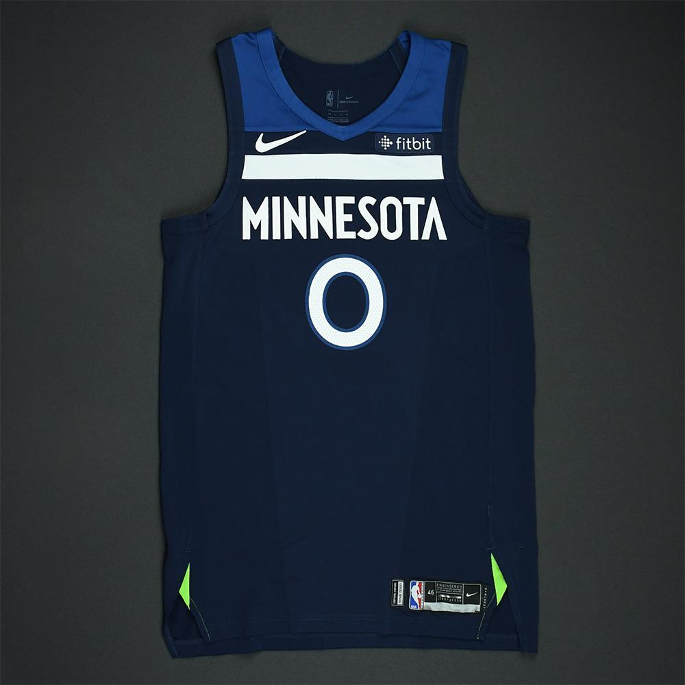 Jeff Teague - Minnesota Timberwolves - 2018 NBA Playoffs Game-Worn Jersey