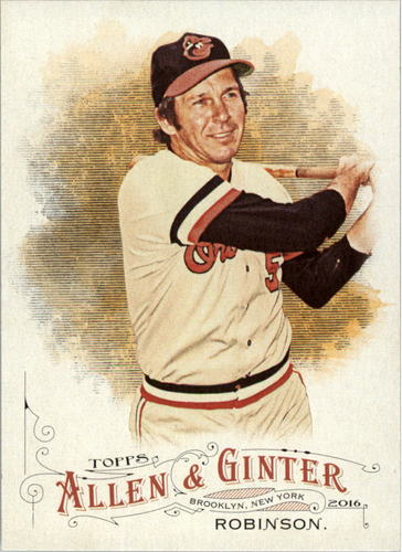 Photo of 2016 Topps Allen and Ginter #131 Brooks Robinson