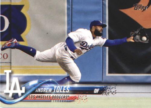 Photo of 2018 Topps #518 Andrew Toles