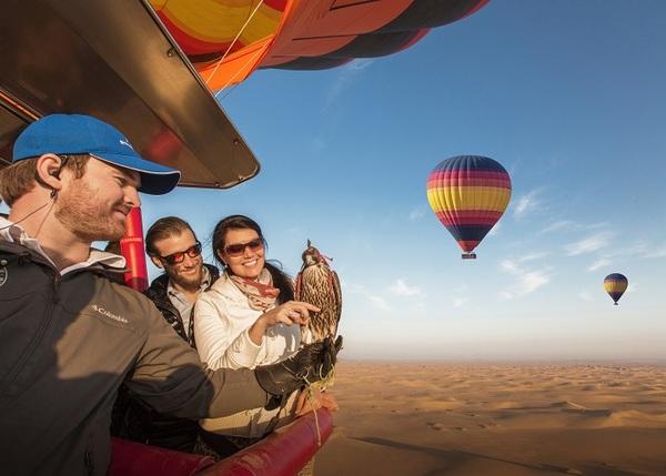 Photo of Experience Dubai through a Tranquil Hot Air Balloon Excursion