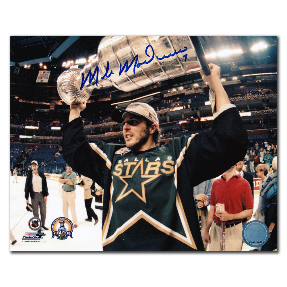 Mike Modano Dallas Stars 1999 STANLEY CUP Autographed 8x10