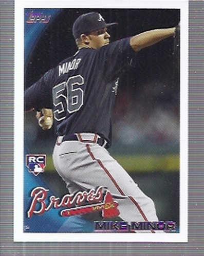 Photo of 2010 Topps Update #US253 Mike Minor Rookie Card