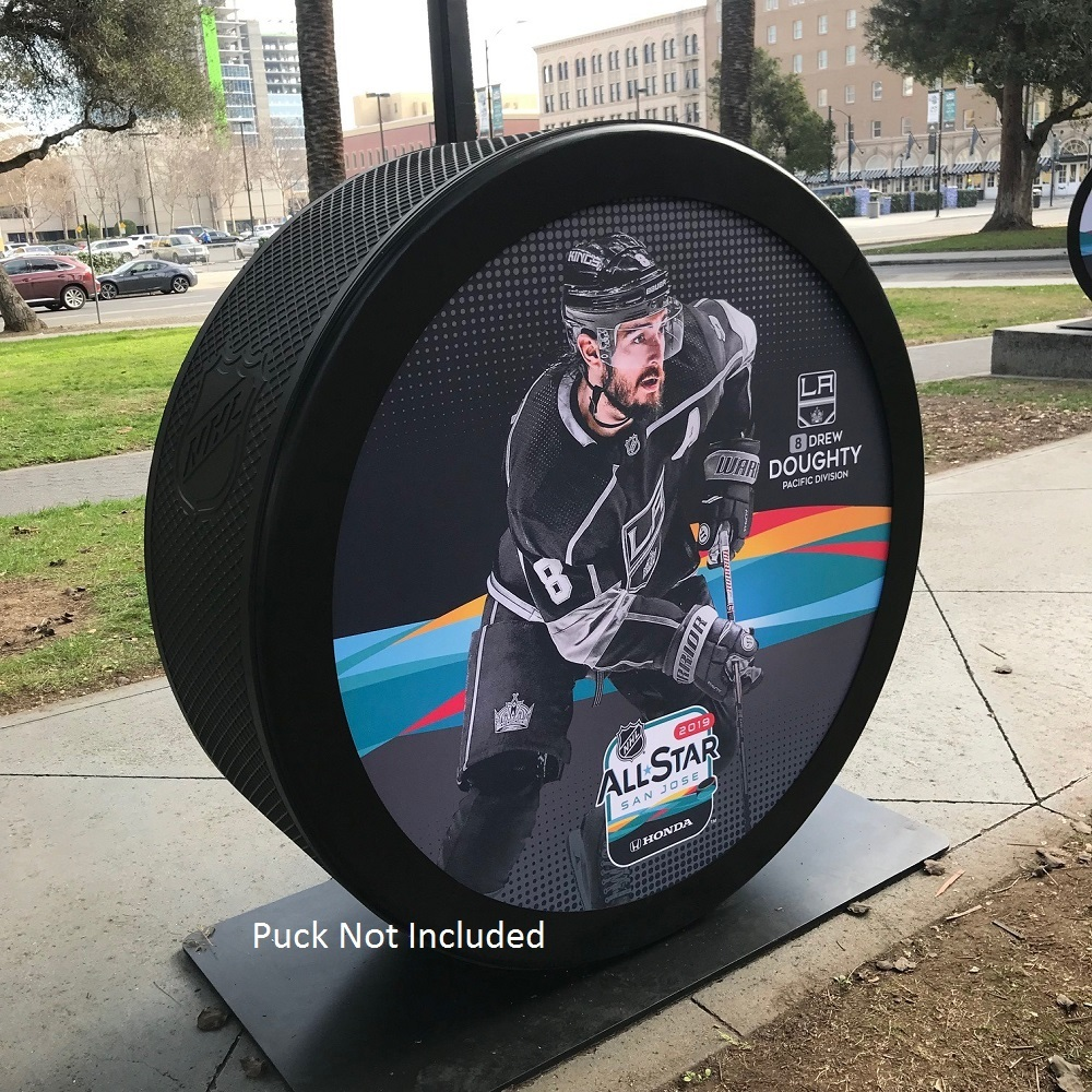 2019 NHL All Star Game Banner Featuring Drew Doughty (LA Kings)