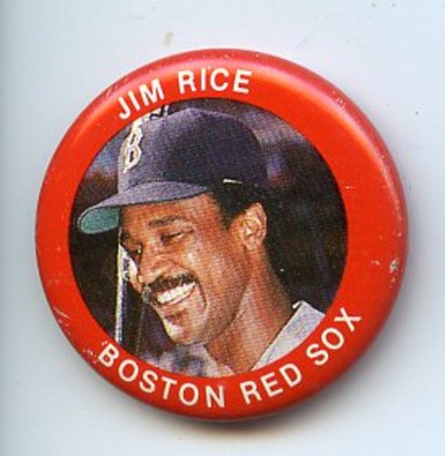 Photo of 1984 Fun Foods Pins #5 Jim Rice