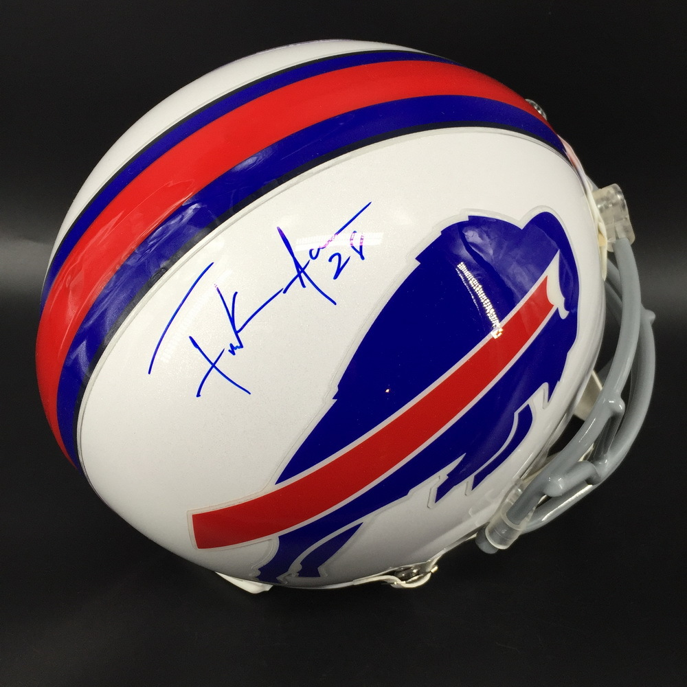 Bills - Frank Gore Signed Proline Helmet