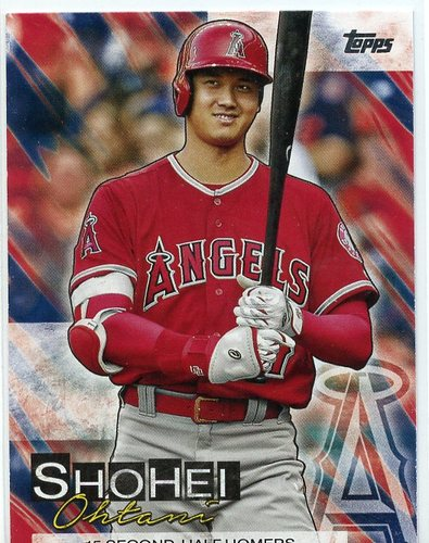 Photo of 2019 Topps Update Shohei Ohtani Highlights #SO16 Shohei Ohtani