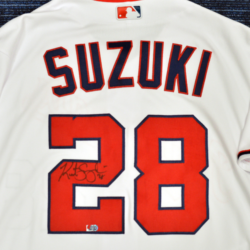 Washington Nationals Philanthropies Jerseys Off Their Back Auction - Kurt Suzuki - Autographed Game-Used Jersey - Size 48