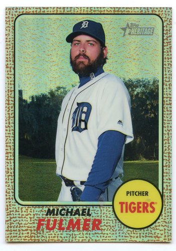 Photo of 2017 Topps Heritage Chrome Refractors #THC484 Michael Fulmer
