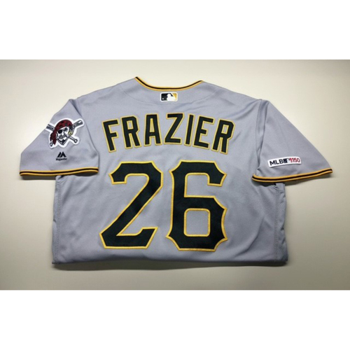 Photo of Game-Used Jersey: Adam Frazier 3/28/2019
