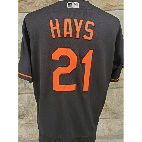 Photo of Austin Hays: Jersey - Game Used (HR)