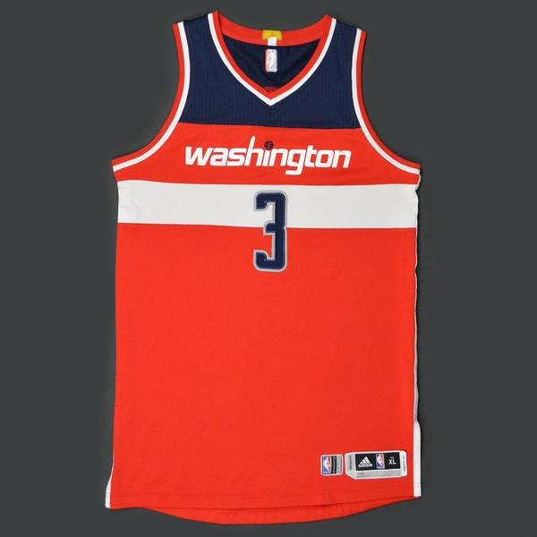 Bradley Beal - Washington Wizards - Game-Worn Jersey - Kia NBA Tip. a9fa475b7