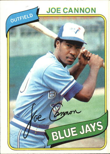 Photo of 1980 Topps #221 Joe Cannon RC