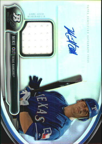 Photo of 2013 Bowman Platinum Relic Autographs #MO Mike Olt