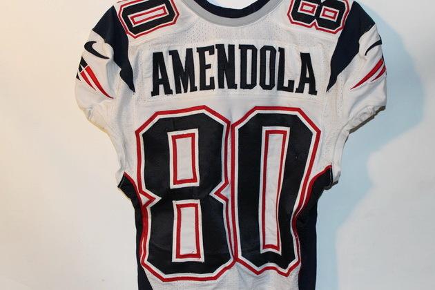NFL Auction   PATRIOTS DANNY AMENDOLA GAME WORN JERSEY (OCTOBER 6 ...