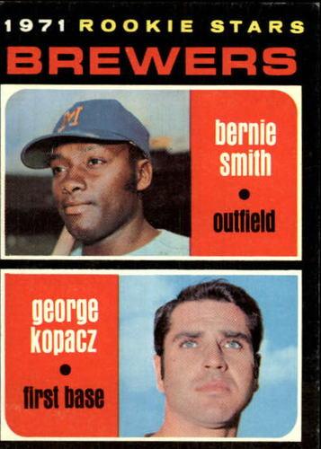 Photo of 1971 Topps #204 Rookie Stars/Bernie Smith RC/George Kopacz RC