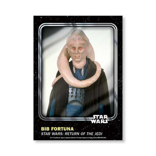 Bib Fortuna 2016 Star Wars Card Trader Base Poster - # to 99