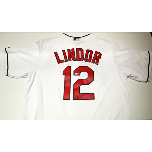 Photo of Compton Youth Academy Auction: Francisco Lindor Signed Jersey