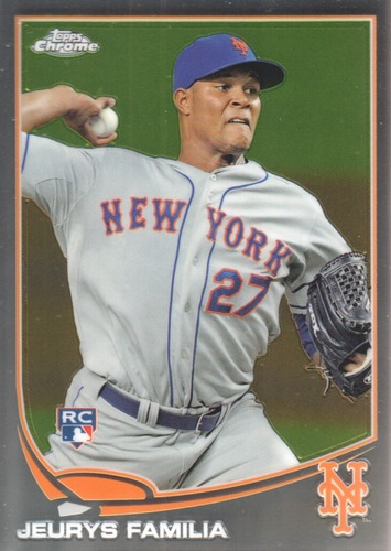 Photo of 2013 Topps Chrome #59 Jeurys Familia  Rookie Card