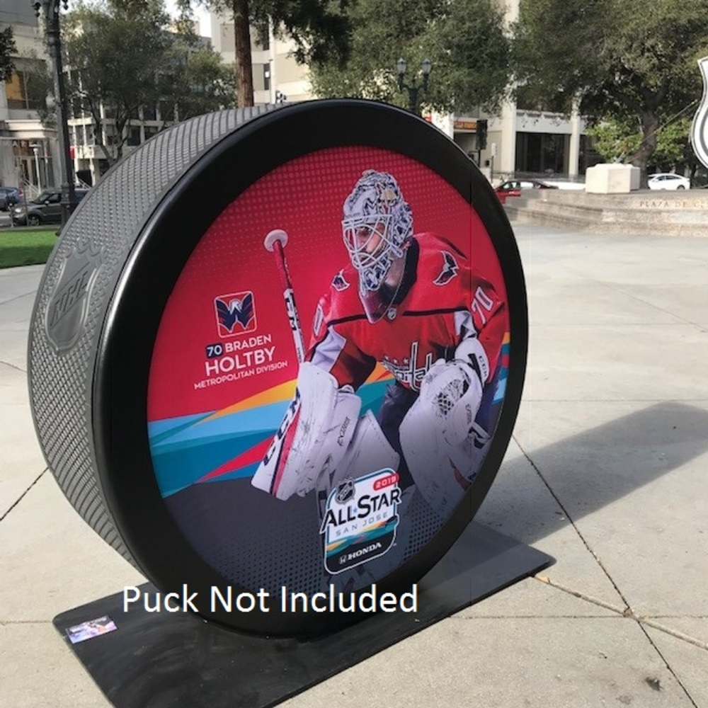 2019 NHL All Star Game Banner Featuring Braden Holtby (Washington Capitals)