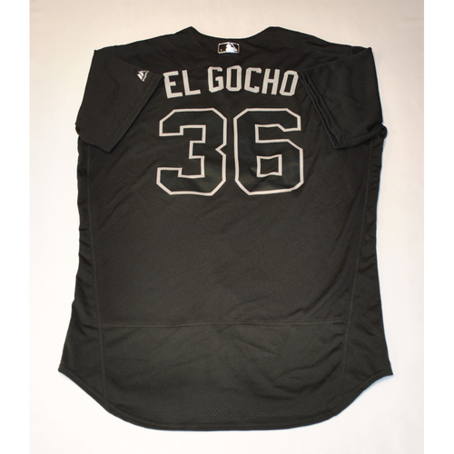 "Photo of Jose ""EL GOCHO"" Osuna Pittsburgh Pirates Game-Used 2019 Players' Weekend Jersey"