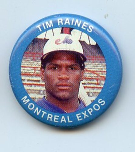 Photo of 1984 Fun Foods Pins #41 Tim Raines