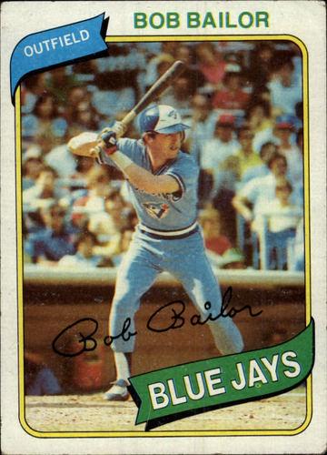 Photo of 1980 Topps #581 Bob Bailor