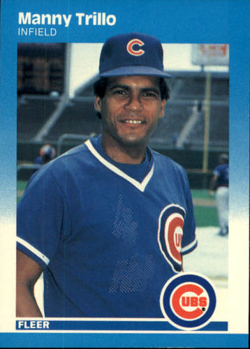 Photo of 1987 Fleer #577 Manny Trillo