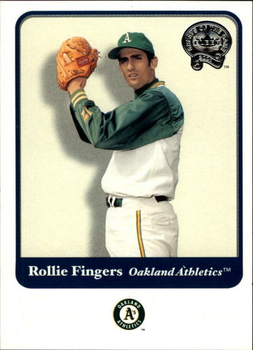 Photo of 2001 Greats of the Game #21 Rollie Fingers