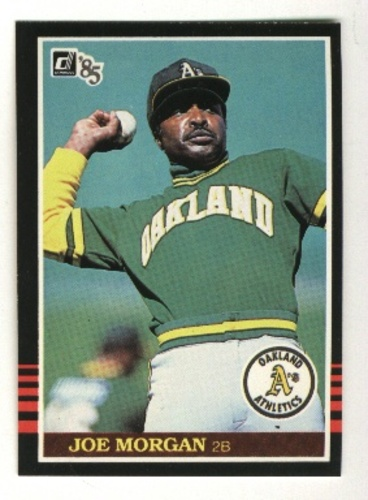 Photo of 1985 Donruss #584 Joe Morgan