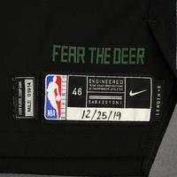 George Hill - Milwaukee Bucks - Christmas Day' 19 - Game-Worn City Edition Jersey