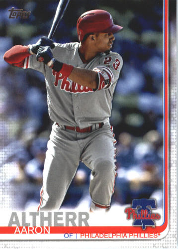 Photo of 2019 Topps #534 Aaron Altherr