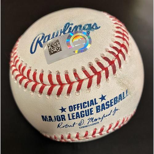 Photo of Cameron Maybin Detroit Tigers Double Baseball (MLB AUTHENTICATED)