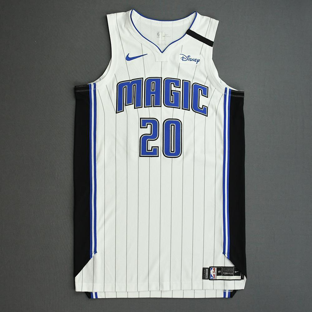 Markelle Fultz - Orlando Magic - Game-Worn Association Edition Jersey - 2019-20 NBA Season Restart with Social Justice Message