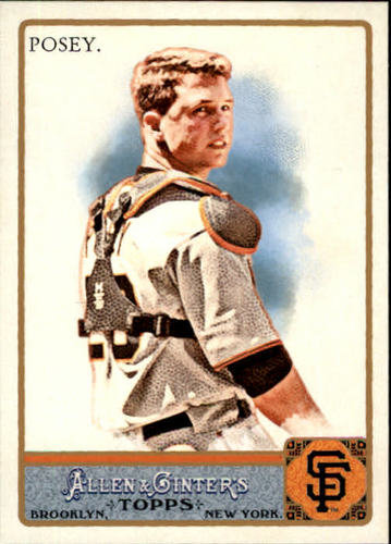 Photo of 2011 Topps Allen and Ginter #265 Buster Posey