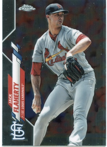 Photo of 2020 Topps Chrome #135 Jack Flaherty