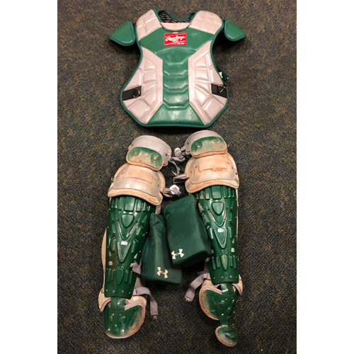 Photo of Sean Murphy Team Issued Chest Protector & Shin Guards