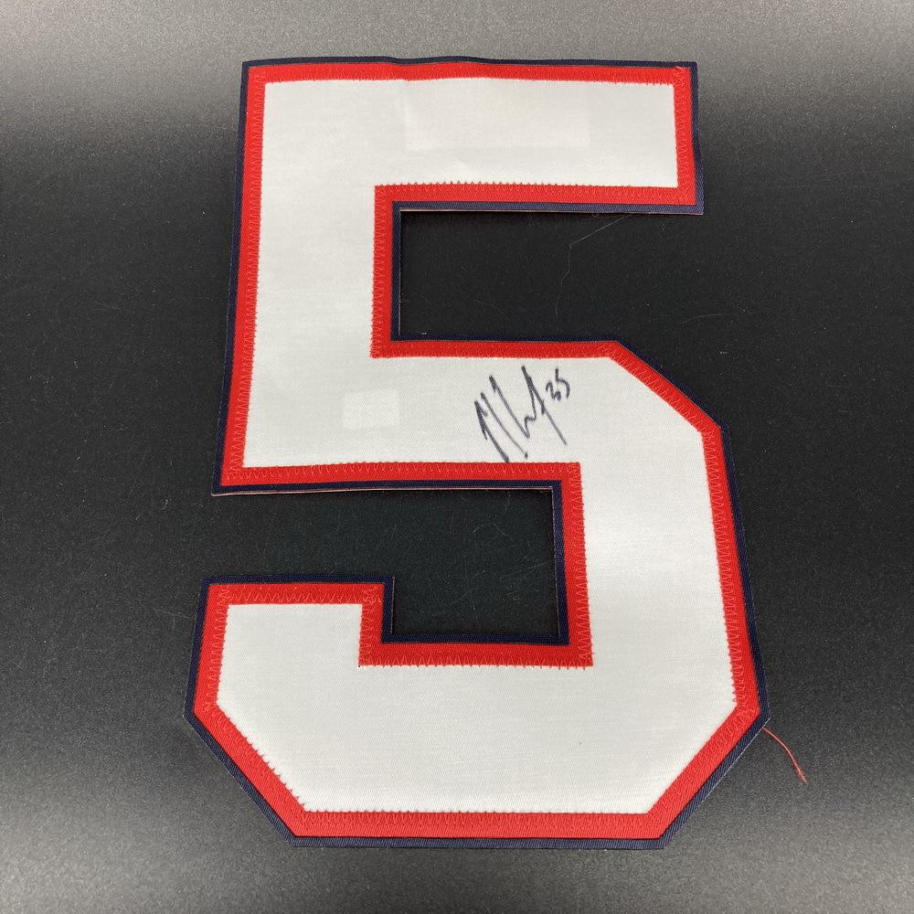 Bills - Mike Gillislee Signed Jersey Number