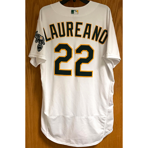 Photo of Ramon Laureano Game-Used Jersey - 5/18/21 (HR #9 & 10) & Walk-Off Sac Fly