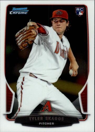 Photo of 2013 Bowman Chrome Draft #2 Tyler Skaggs RC