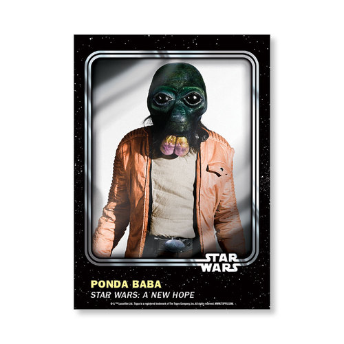 Ponda Baba 2016 Star Wars Card Trader Base Poster - # to 99