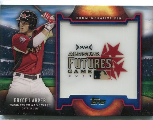 Photo of 2016 Topps Futures Game Pins Bryce Harper -- 2018 All-Star