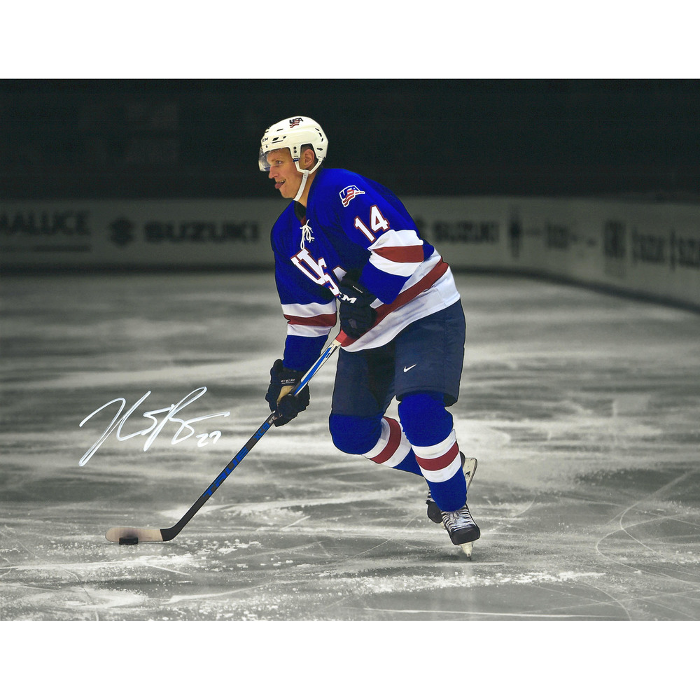 Nick Bjugstad Florida Panthers Autographed 11