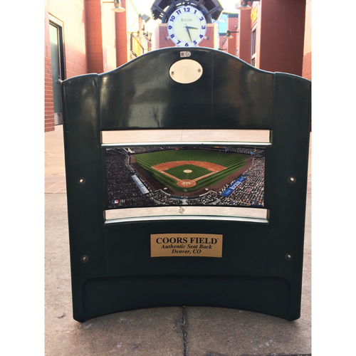 Photo of Colorado Rockies Authentic Coors Field Seat Back